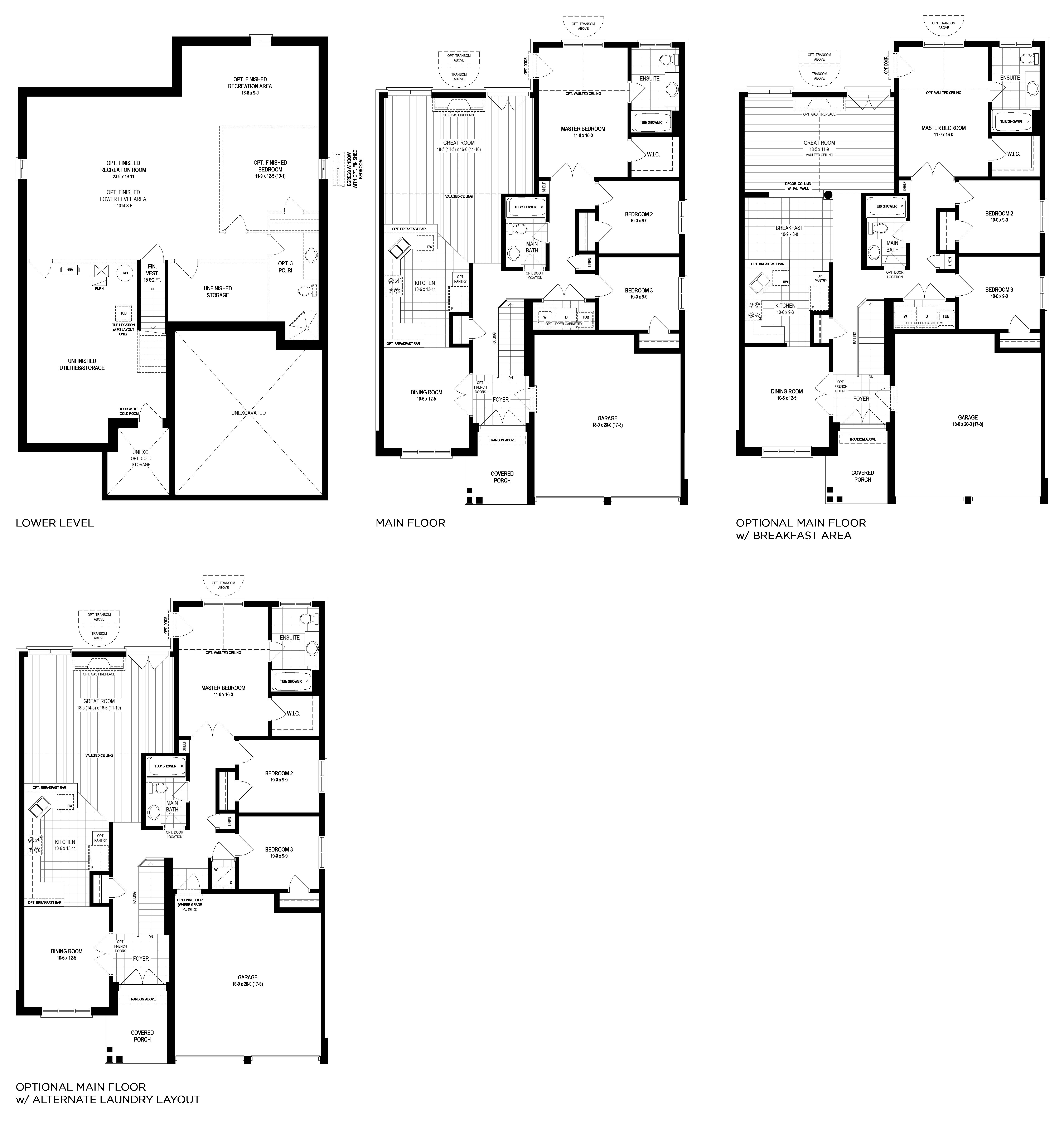 Bridgeview Floorplan