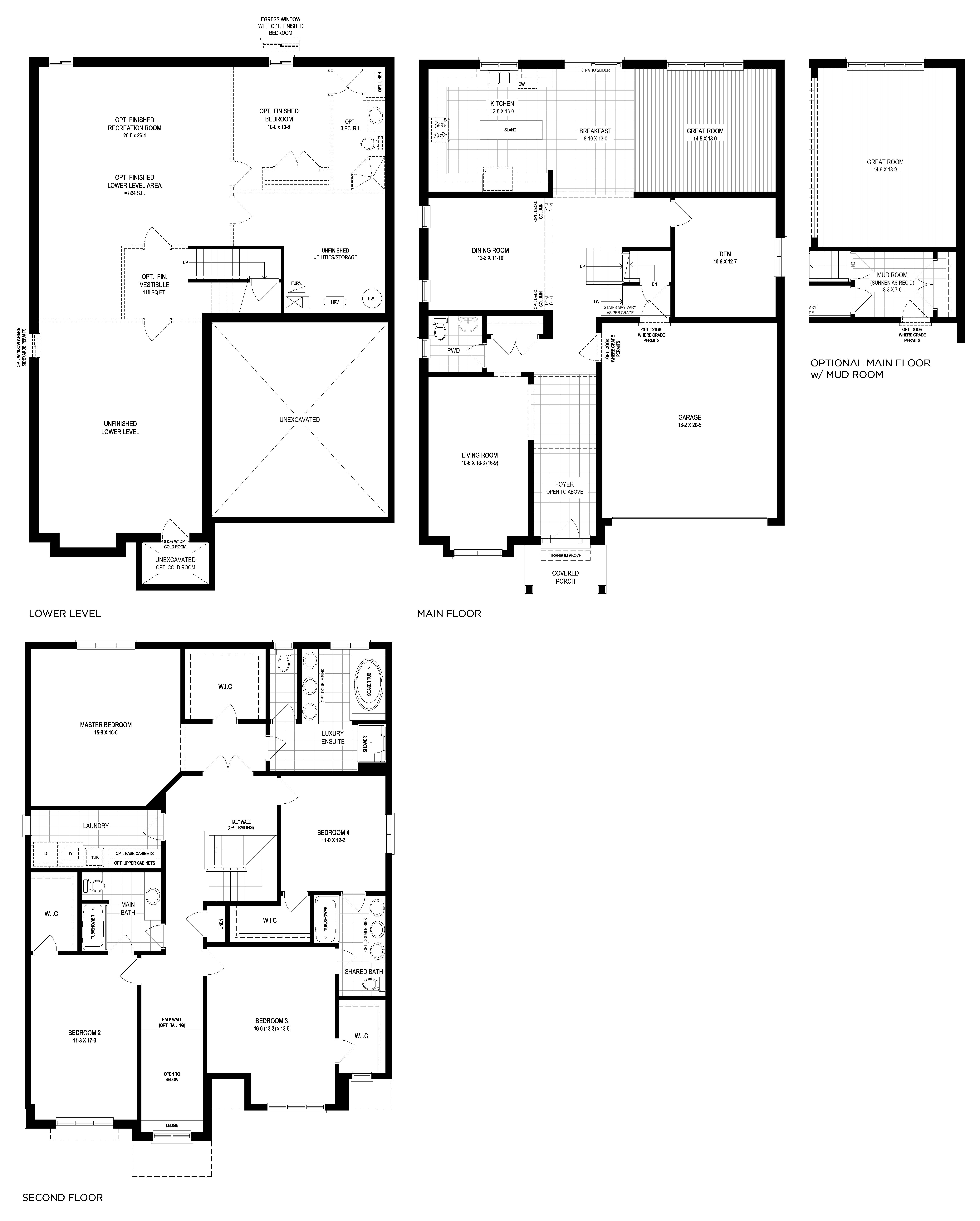 Corsica Floorplan