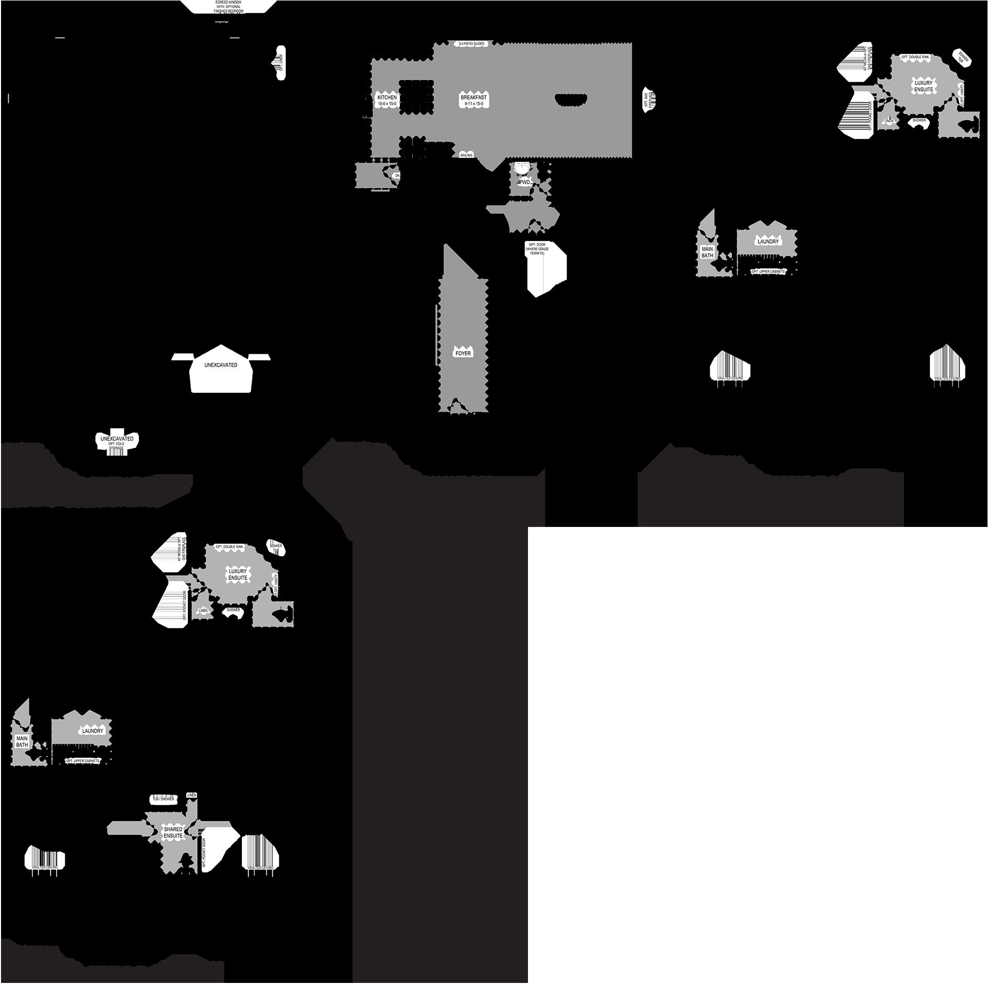 Albion Floorplan
