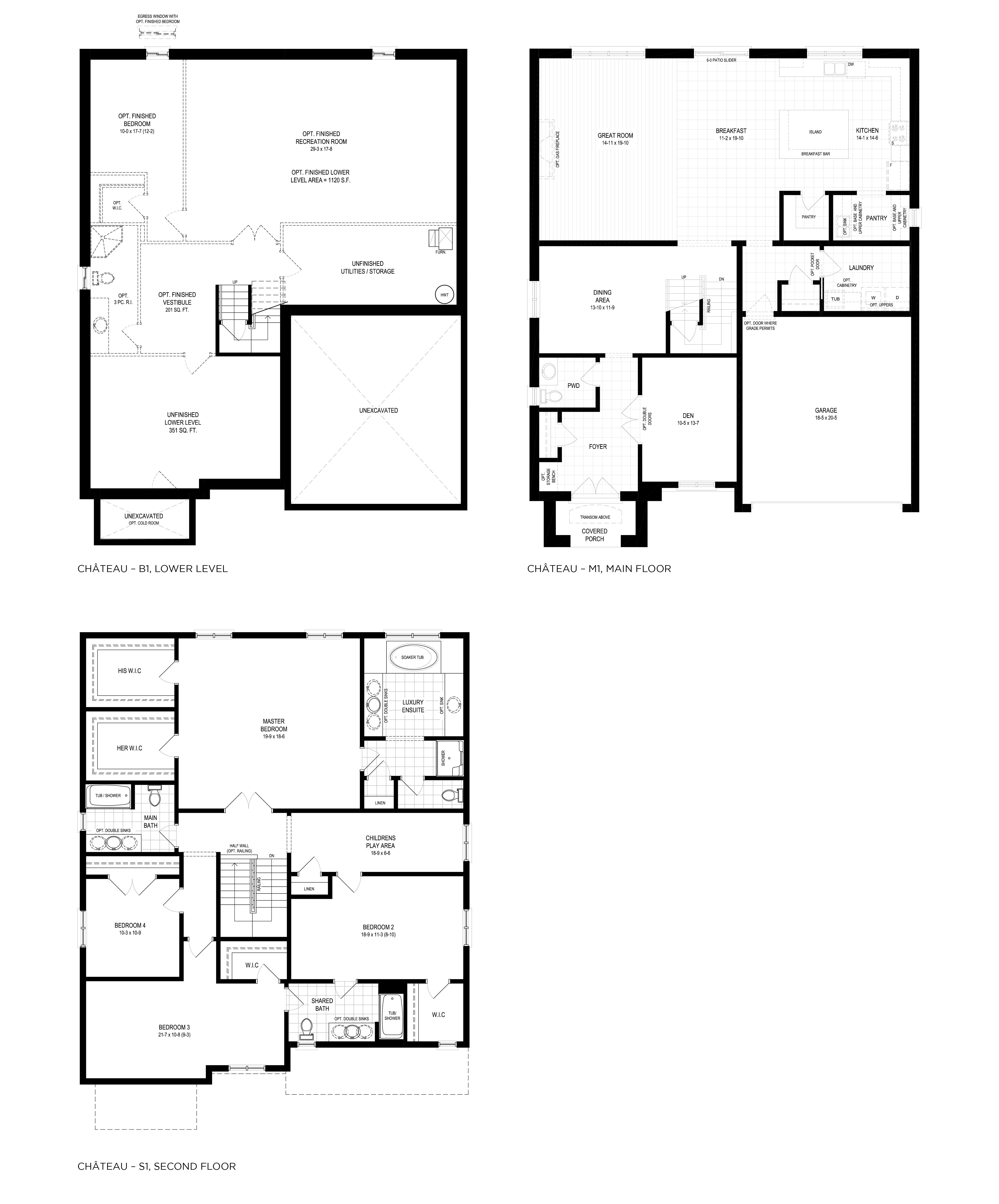 Burgundy Floorplan